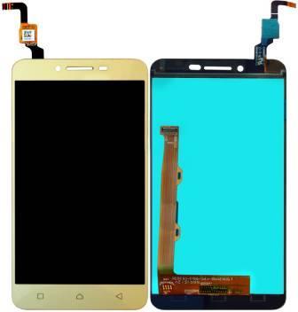 Дисплей модуль Lenovo K5 Plus A6020a46 Vibe #1540327143 в зборі з тачскріном, золотистий