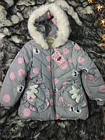 Курточка зимняя на девочку 3 года, фото 1