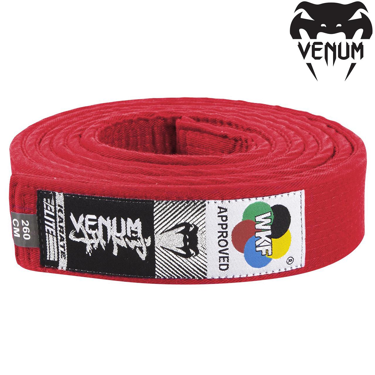 Пояс для каратэ Venum Karate Belt Red