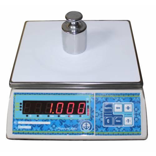 Весы на 20 кг фасовочные счетные Вагар VW-LN