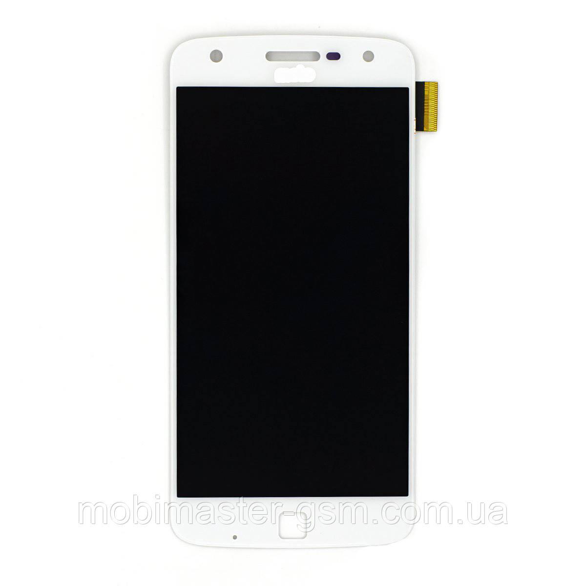Дисплейный модуль Motorola XT1635 Moto Z Play OLED white