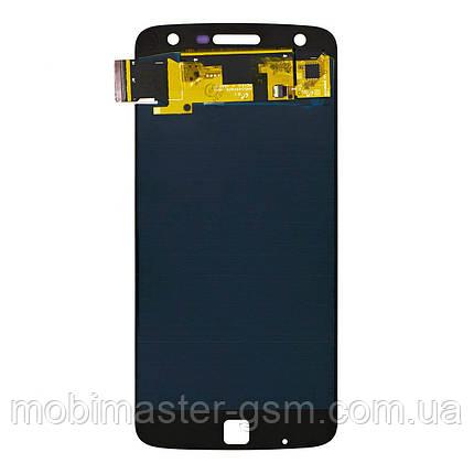 Дисплейный модуль Motorola XT1635 Moto Z Play OLED white, фото 2