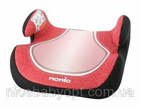 Дитяче автокрісло-бустер Nania Topo Comfort Red