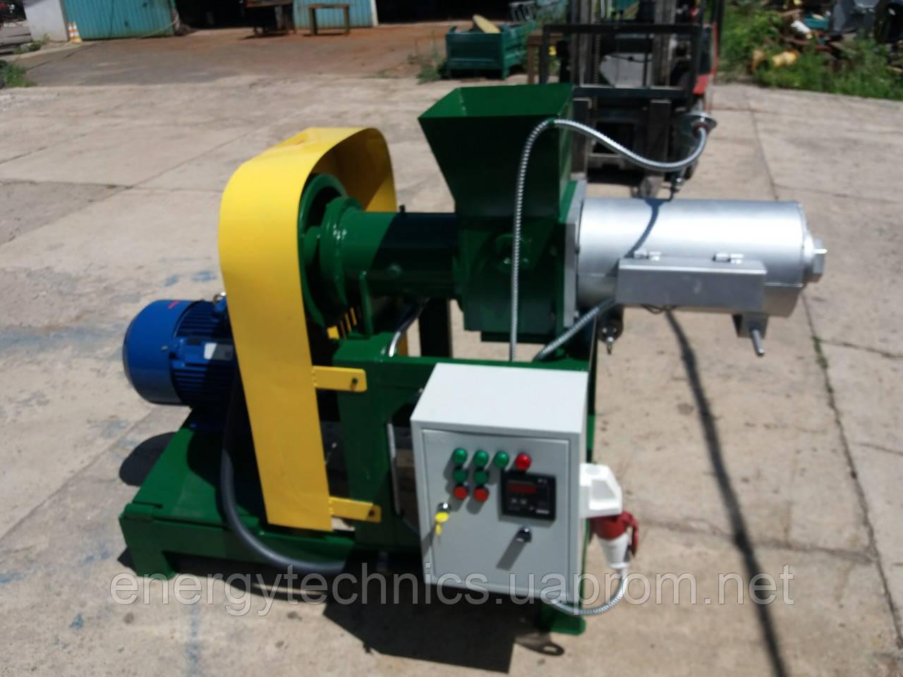Пресс экструдер для изготовления топливных брикетов ПБ-200