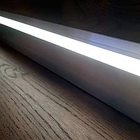 LED плинтус скрытого монтажа, без покрытия, 2 метра, фото 1