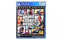 Диск PlayStation 4 Grand Theft Auto V Premium Online Edition