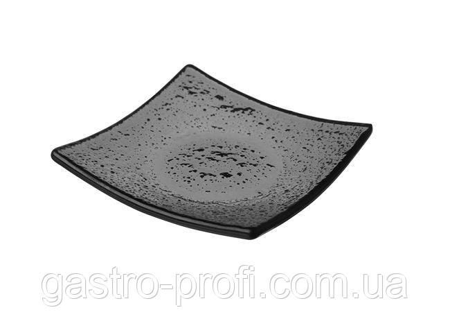 Посуд Finger Food квадратна чорна 80х80 мм Fine Dine 429860