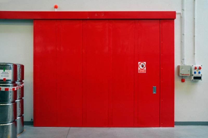 Откатные противопожарные ворота DoorHan EI60, EI90