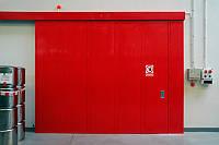 Откатные противопожарные ворота DoorHan EI60, EI90, фото 1
