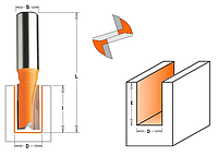 Фреза пазовая прямая CMT ф16х20мм хв.8мм (арт. 911.160.11)