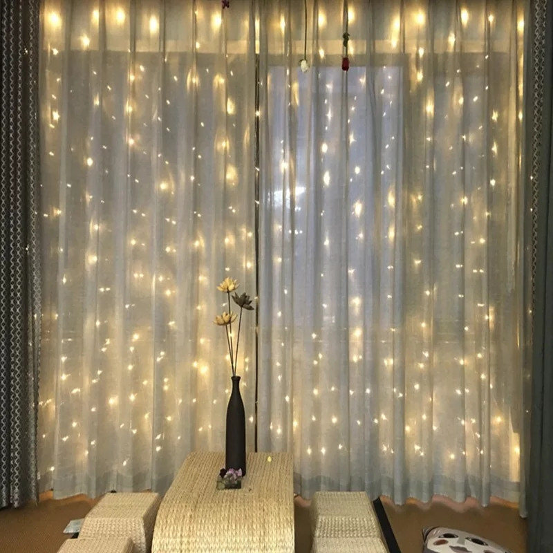 Гірлянда Завісу (Curtain) ПВХ 3x1.5м Внутрішня