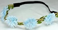 О1580-1 Греческая повязка голубая