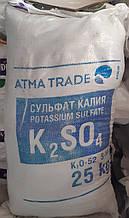 Сульфат калия, 25 кг K2O-50-52%. S-18%