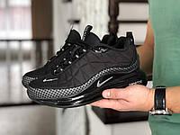 Мужские зимние кроссовки Nike 8739 черные