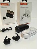 Беспроводные наушники (вкладыши) с гарнитурой TWS 4 сенсорные Stereo Bluetooth белые