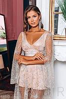 Изысканное платье с блестками xs s m L