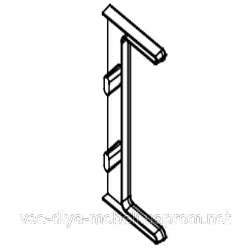 142620 Заглушка  (для ручки ( LB-C) C-образн. LUX 142610) (1 шт.)