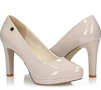 Бежевые женские туфли Ascoli-Satriano