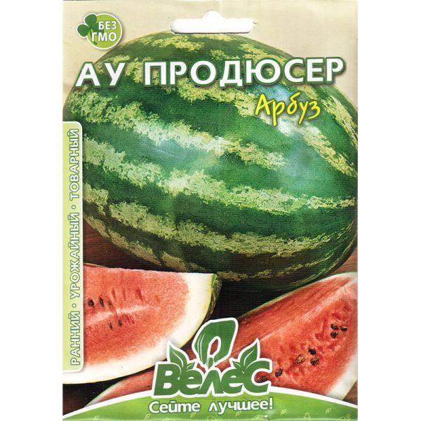 """Семена арбуза """"Ау продюсер"""" (5 г) от ТМ """"Велес"""""""