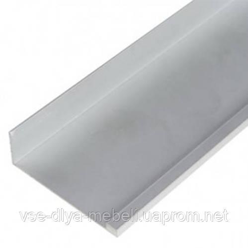 171100 Профиль-ручка Gola алюминий U-образная L-2,75 м
