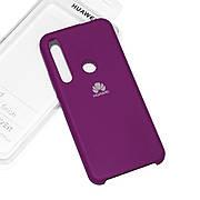 Силиконовый чехол на Huawei Honor 20 lite  Soft-touch  Fuchsia