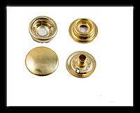 Кнопка-застежка Каппа 4232 золото 15 мм