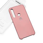 Силіконовий чохол на Huawei Honor 20 lite Soft-touch Pink