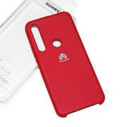 Силіконовий чохол на Huawei Honor 20 lite Soft-touch Red