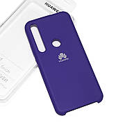 Силіконовий чохол на Huawei Honor 20 lite Soft-touch Violet