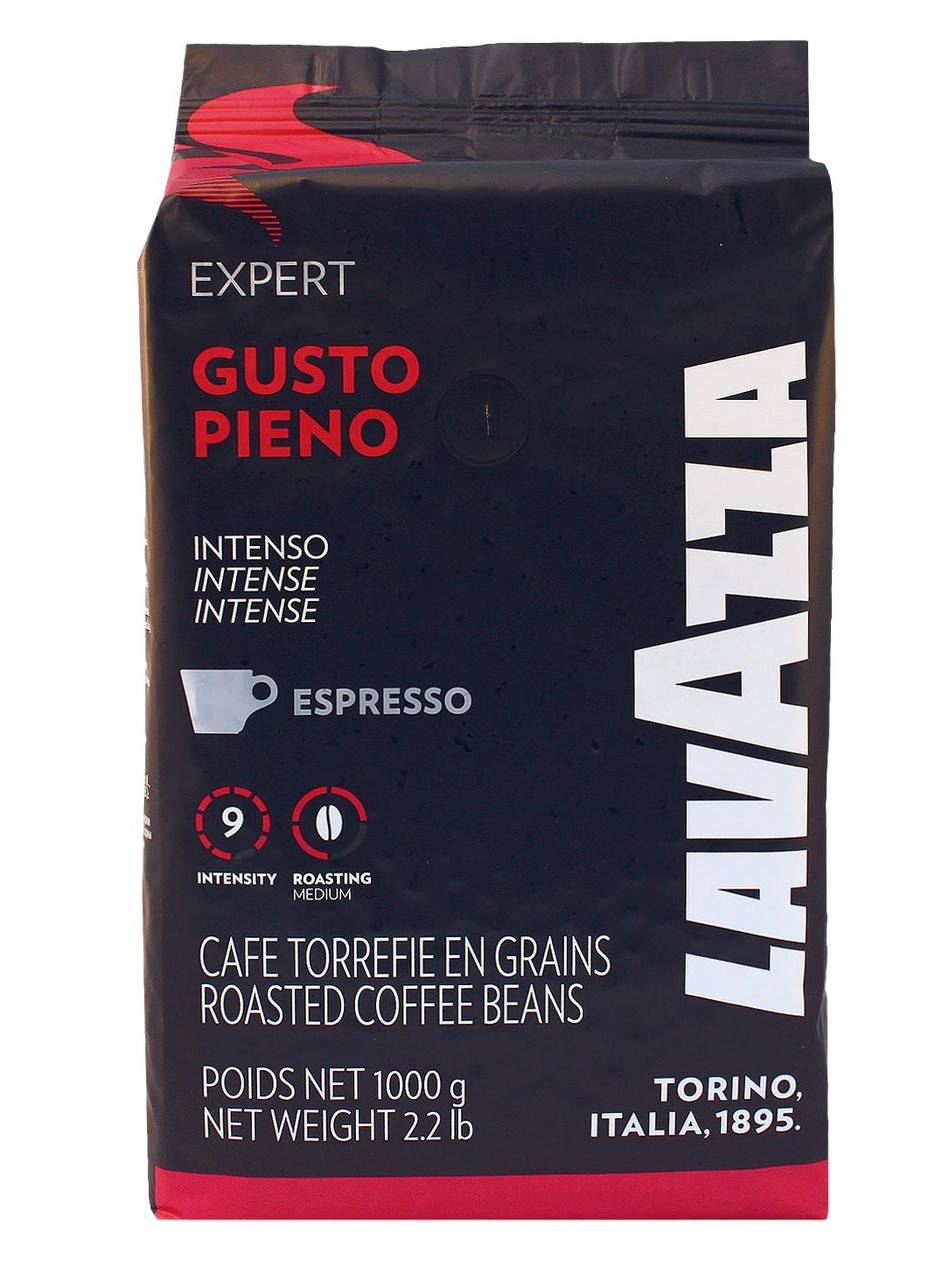 Кофе в зернах Lavazza Expert Gusto Pieno 1кг