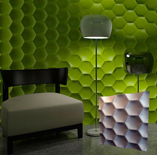 """Гипсовая 3d панель для стен """"Медок"""" (декоративная стеновая 3д панель)"""