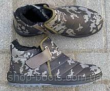 Мужские ботинки оптом Даго. 6 пар. Размеры 41-45. Модель Даго М1005 камуфляж