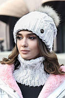 Комплект «Енеіс» (шапка і шарф-хомут)