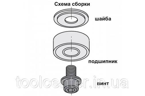Подшипник СМТ 12.7х6.35х4.8 для фрез, фото 2
