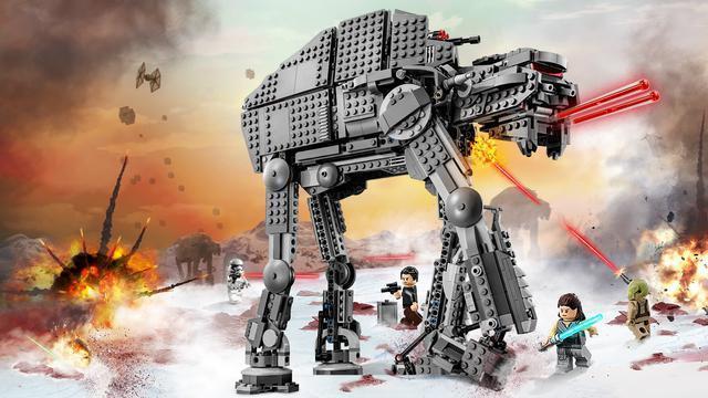 """Конструктор Bela 10908 Star Wars """"Штурмовой шагоход Первого Ордена"""" 1406 деталей, аналог Lego 75189"""
