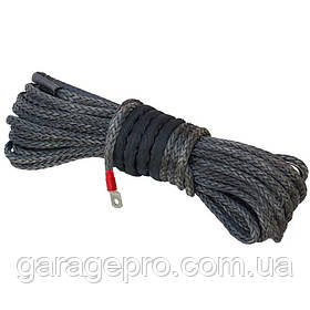 Синтетический (кевларовый) трос Dyneema SK-78 30м 8мм (готовый комплект)