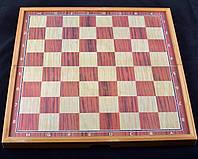 Игровой набор 3в1нарды шахматы и шашки (48х48 см) X-509