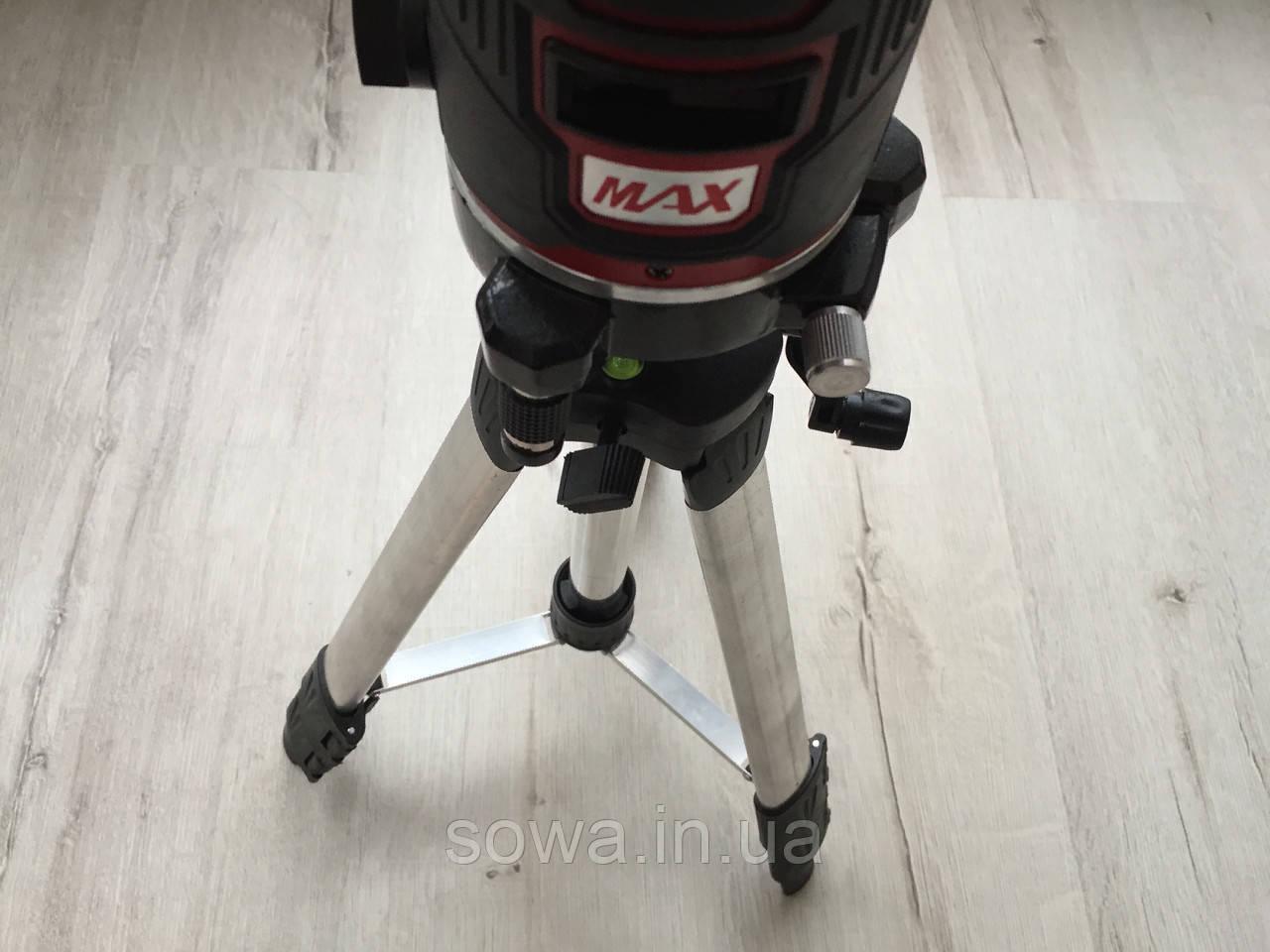 ✔️ Лазерный уровень, нивелир Max MXNL 03 + штатив