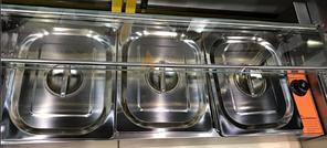 Тепловая витрина-мармит GoodFood BM3G, фото 3