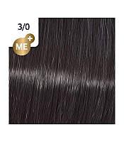 Стойкая крем-краска Темно-коричневий натуральний 3/0 - Wella Professional Koleston Perfect Me+ Pure Naturals