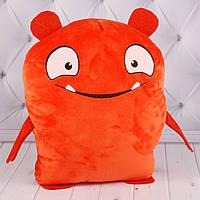 00278-54 Мягкие игрушки Игрушка-сюрприз UglyDolls оранж 31*25 см тм Копиця