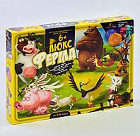 Игра настольная Ферма Люкс большая ТМ Danko toys арт. G-FL-01-01