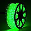 """Уличная Герметичная Светодиодная гирлянда Дюралайт (D0021) """"Rope Light"""" 100 метров Зеленый, 1800 LED, фото 2"""