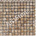 Мозаика мраморная Стар.Валт.Ант. МКР-2СВА (23х23) 6 мм Emperador Light, фото 3