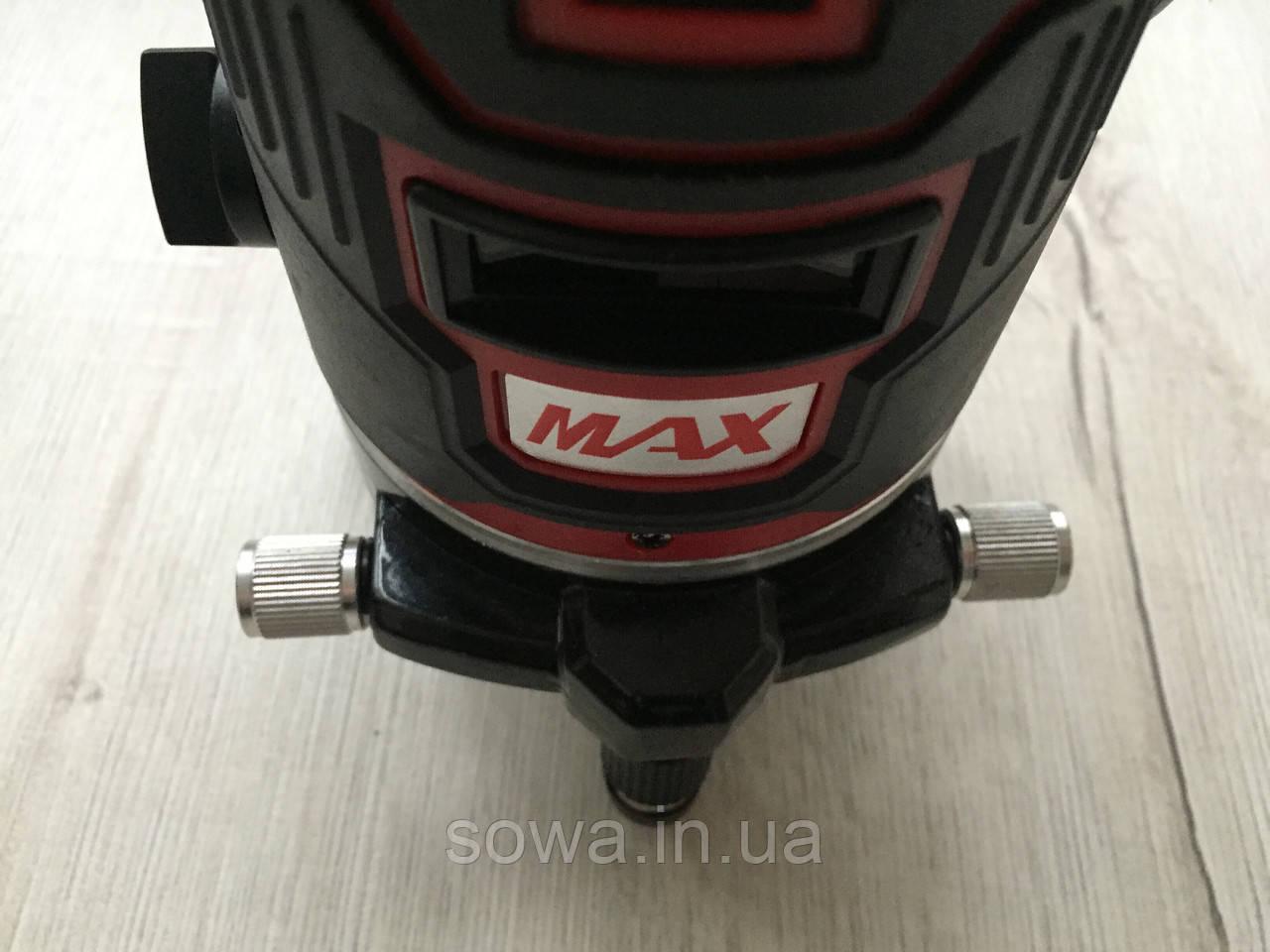 ✔️ Лазерный уровень, нивелир Max MXNL 03 + штатив • 5 линий / 6 точек