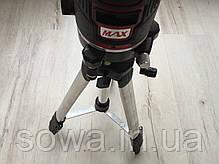 ✔️ Лазерный уровень, нивелир Max MXNL 03 + штатив • 5 линий / 6 точек, фото 3