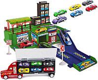 Парковка с Грузовиком и Машинками, фото 1
