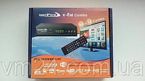 Комбинированный ресивер OpenFox X6 Metal Combo HD+WiFi адаптер кабель HDMI-1м