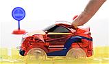 Дитячий іграшковий трек для машинок на пульті управління DAZZLE TRACKS 187 деталей | конструктор траса, фото 5