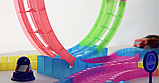 Дитячий іграшковий трек для машинок на пульті управління DAZZLE TRACKS 187 деталей | конструктор траса, фото 7